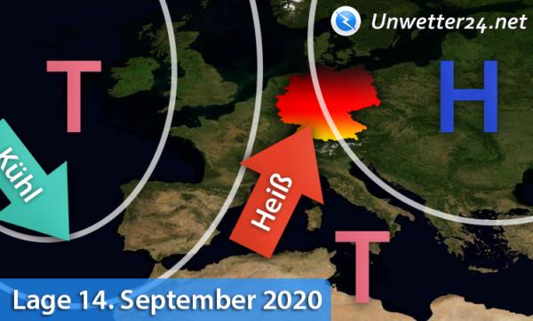 Hitze Mitte September 2020