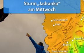 Sturm Jadranka Ende Oktober 2020