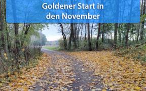 Goldener Start in den November