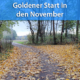 Goldener Start in den November