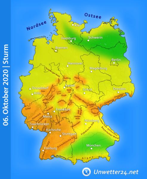 Stürmisch 06. Oktober 2020