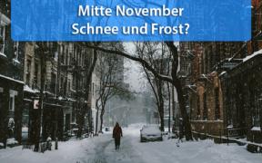 Wetter Mitte November 2020