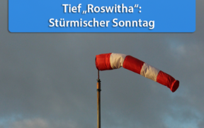 Sturmtief Roswitha November 2020