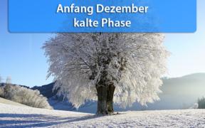 Dauerfrost und strenger Frost Dezember 2020