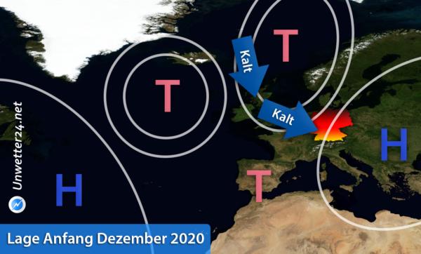 Kälte Anfang Dezember 2020