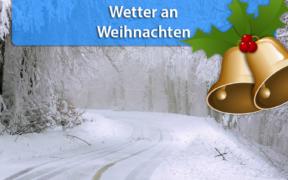 Wetter Weihnachten 2020