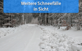 Schnee Ende Dezember 2020