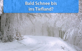 Anfang Januar 2021 Schnee Tiefland