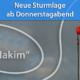 "Sturmlage ""Hakim"" Januar 2021"