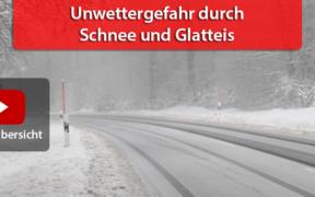 Unwetter durch Schnee und Glatteis 07. Februar 2021