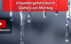 Gefrierender Regen am 15. Februar 2021
