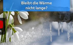 Wetter Ende Februar und Anfang März 2021