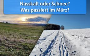 Wintereinbruch Anfang März 2021?