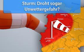 Sturm am 11. März 2021