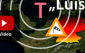 "Sturmlage ""Luis"" am 13. März 2021"