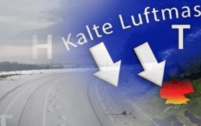 Schnee und Frost Ostern 2021