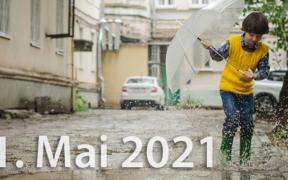 Wetter Tag der Arbeit 2021