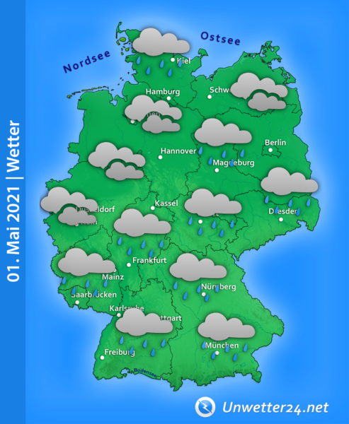 Wetter 1. Mai 2021