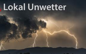 Lokal Unwetter am 4. Juni 2021
