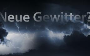 Gewitter Anfang Juli 2021