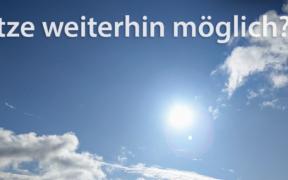 Hitze im September 2021?