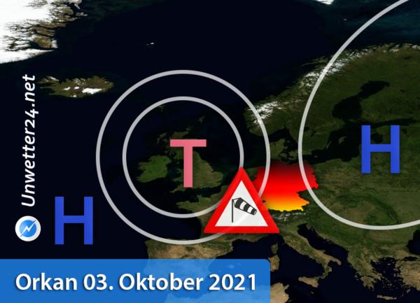 Orkan Tag der Deutschen Einheit 2021