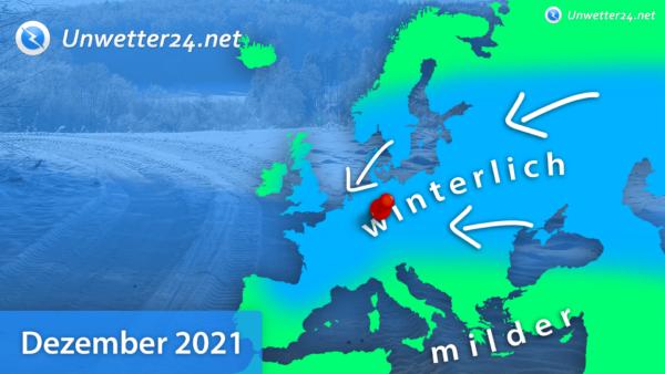 Klimatrend Dezember 2021